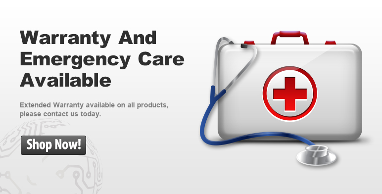 Warranty and emergency care available