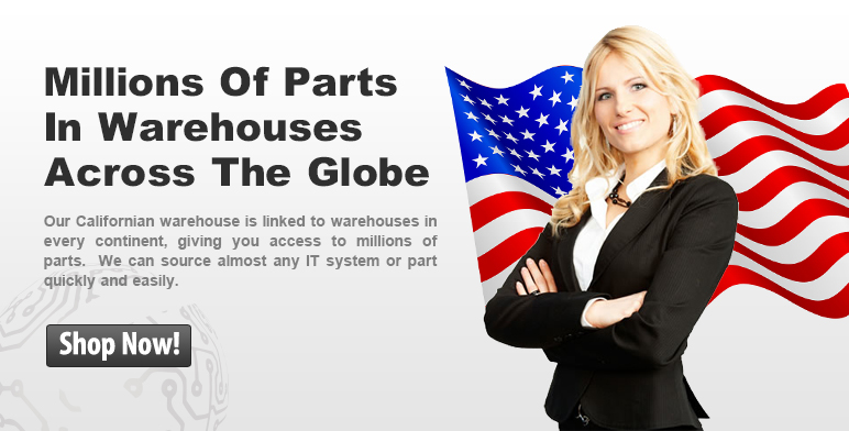Millions of Parts in warehouses across the globe